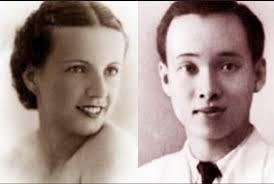 Vợ chồng bác sĩ Phạm Ngọc Thạch. Ảnh tư liệu