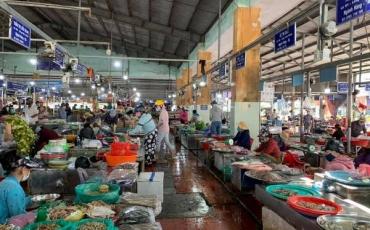 Đà Nẵng: 12 chợ tạm dừng hoạt động vì có ca mắc COVID-19