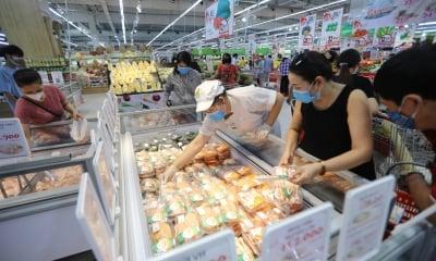Siêu thị Hà Nội tăng gấp 2-3 lần hàng hóa trong Chỉ thị 16