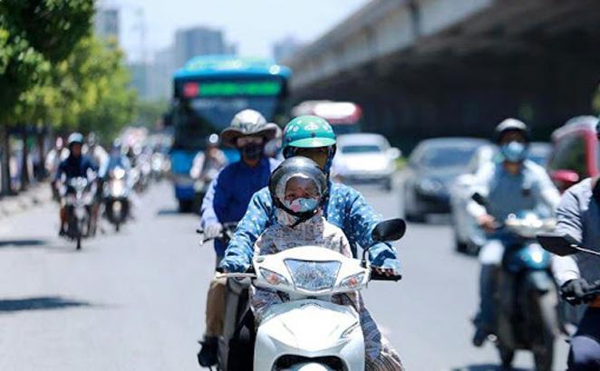 Bắc Bộ nắng nóng trở lại, Hà Nội 36 độ C