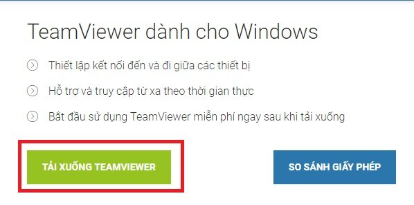 Tải, download TeamViewer - Phần mềm điều khiển, quản lý máy tính từ xa nhanh chóng và an toàn