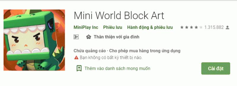 Tải, download Mini Word - Game vùng đất ma thuật bản mới nhất