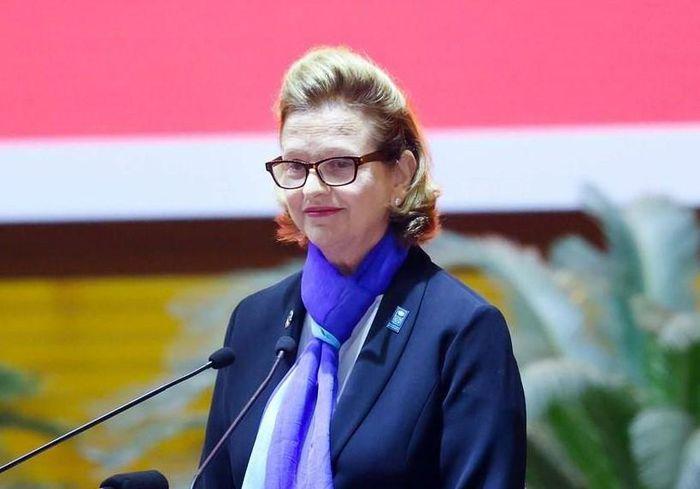 Bà Caitlin Wiesen, Trưởng Đại diện thường trú UNDP tại Việt Nam