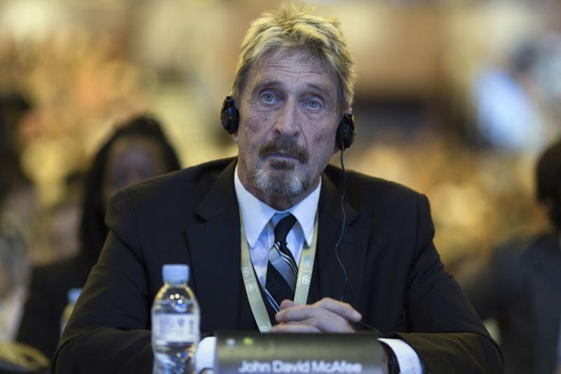 McAfee bị bắt ở Tây Ban Nha vào tháng 10/2020 sau khi bị truy tố ở Mỹ vì tội trốn thuế vài tháng trước đó