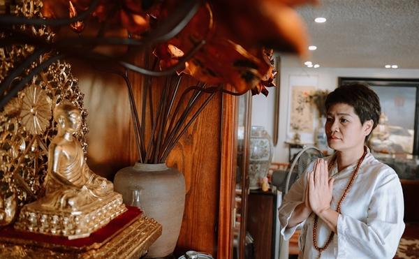 TikToker Mai Khanh: 'Dân chơi phố cổ' từng trượt dài trong tội lỗi tìm thấy bình yên nhờ giác ngộ đạo Phật