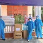 CLB tình nguyện ở Bắc Ninh nấu hàng ngàn suất ăn gửi tặng khu cách ly phòng dịch COVID-19