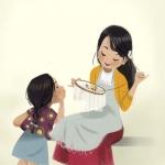 'Lấy vợ nhìn mẹ, lấy chồng xem cha', tính cách con cái được ảnh hưởng từ cha mẹ