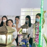 Hoa hậu Đỗ Mỹ Linh, Tiểu Vy, Lương Thuỳ Linh, Á hậu Phương Anh thăm hỏi gia đình bé gái 5 tuổi bị gã hàng xóm sát hại ở Vũng Tàu