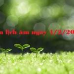 Xem lịch âm ngày 4/2/2021 chi tiết nhất