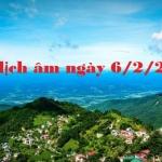 Xem lịch âm ngày 6/2/2021 chi tiết nhất