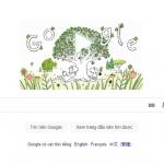 Google Doodle kỷ niệm Ngày Trái đất bằng video truyền cảm hứng trồng cây