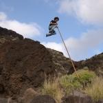 Đến đảo Canary khám phá bí quyết 'nhảy sào qua vách núi' của người dân bản địa