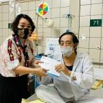 Nghệ sĩ Giang Còi nhập viện điều trị vì thổ huyết nhiều, bệnh chuyển nặng