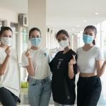Hoa hậu, Á hậu xứ Quảng cùng dàn người đẹp tham gia điều phối hỗ trợ người dân tiêm vaccine