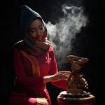 Ngắm lại vẻ đẹp 'thoát tục' của nàng thơ xứ Quảng - Bùi Nữ Kiều Vỹ trong tạo hình cô gái người Chăm