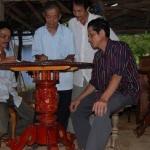 Giải mã bí ẩn về chiếc bàn tự xoay nổi tiếng ở đất Quảng Nam