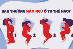 Trắc nghiệm: Nhìn tư thế ngủ biết được mình thu hút người khác giới ở điểm gì