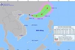 Dự báo đường đi và vùng ảnh hưởng của áp thấp nhiệt đới mới hình thành trên biển Đông