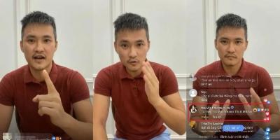 Toàn cảnh vụ Công Vinh 'tuyên chiến' trên sóng livestream với bà Phương Hằng